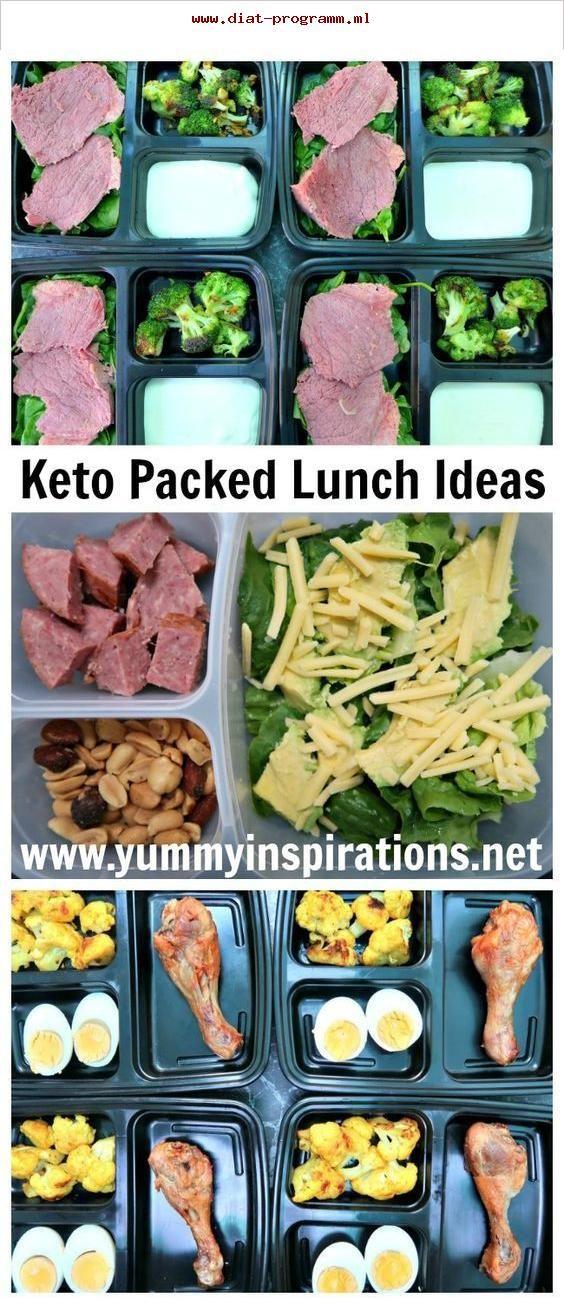 Keto-Lunchpakete - kohlenstoffarme, ketogene Diät-Ideen..