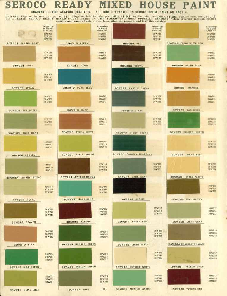 Victorian Paint Colors historic exterior house colors | the old house blog: historic