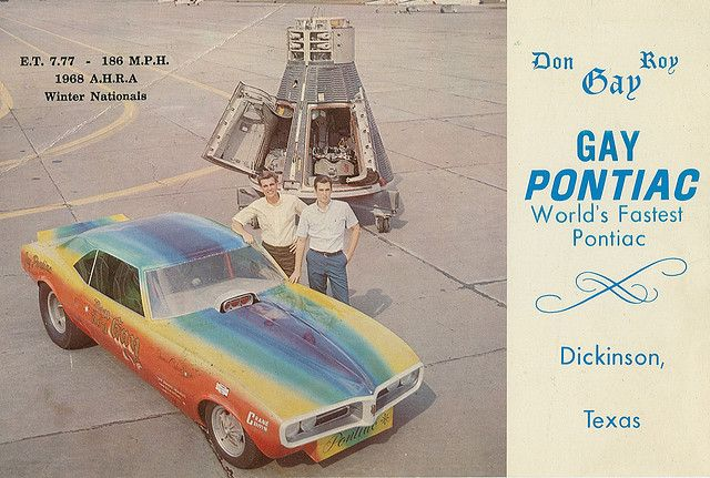 Gay Pontiac, how did they know way back then?