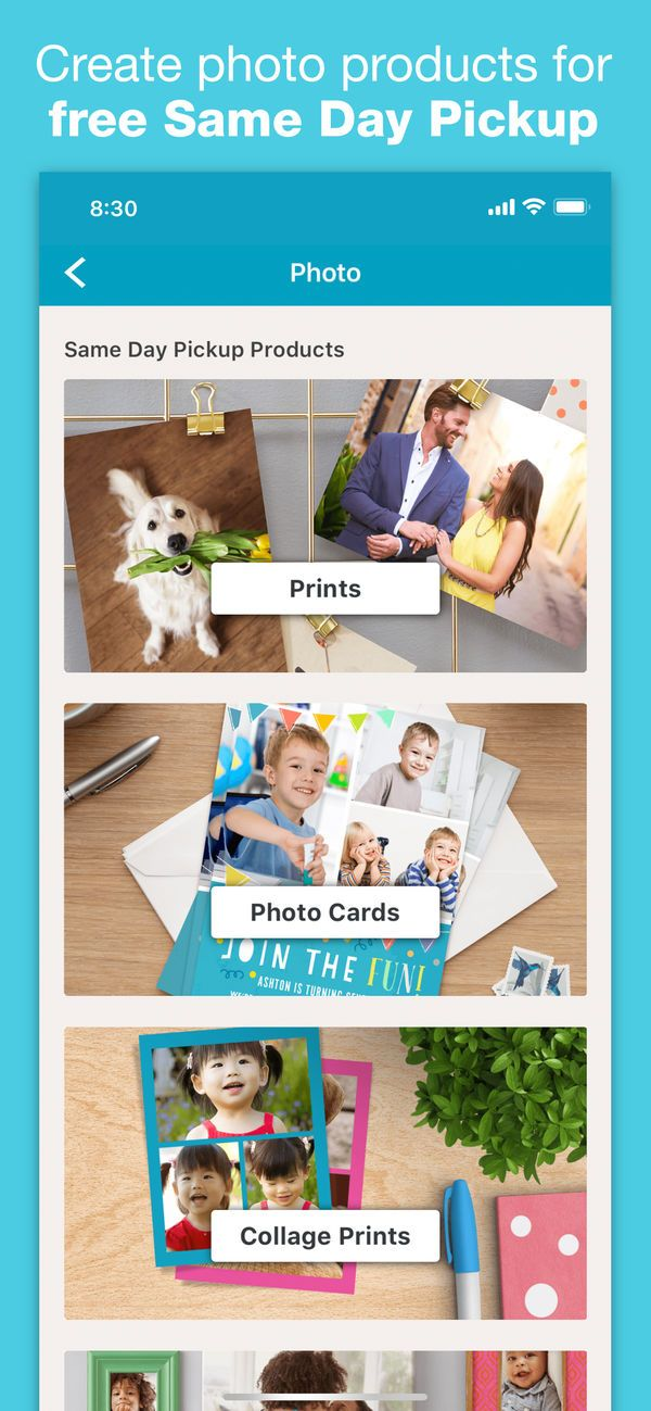 Walgreens on the App Store Create photo, Print collage