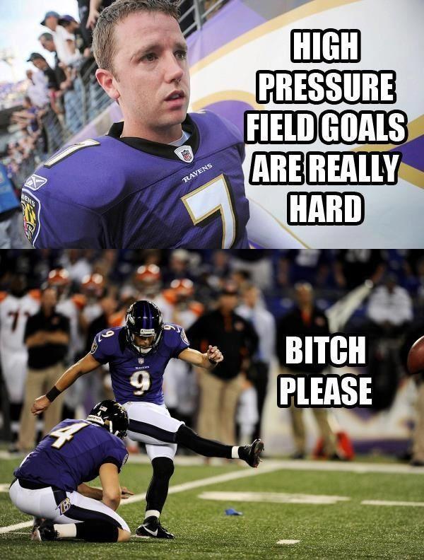 New kicker--the PHENOM TUCKER | Baltimore ravens football, Ravens football,  Funny sports memes