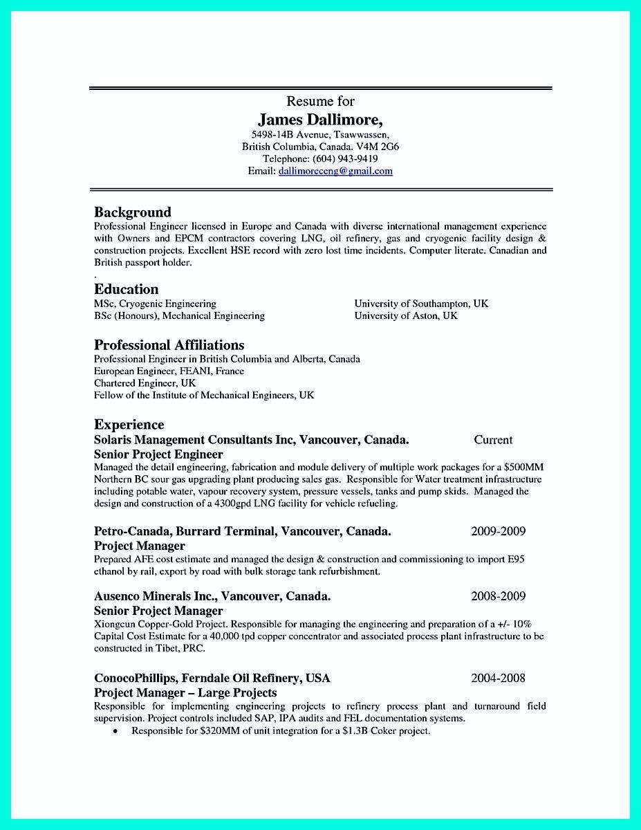 machinist sample resume