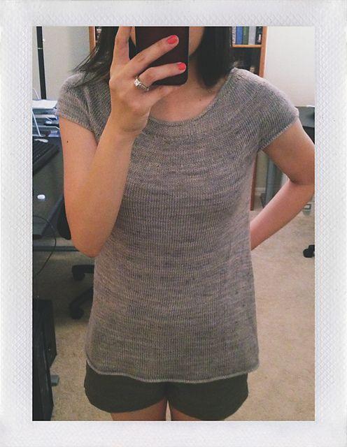 Ravelry: luarn's lightness (Purl Soho's Silken Straw Summer Sweater