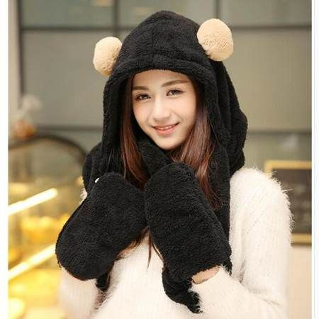 9635d15ef1578 Pin by BUYHATHATS LIMITED on womens animal hat scarf and gloves all ...