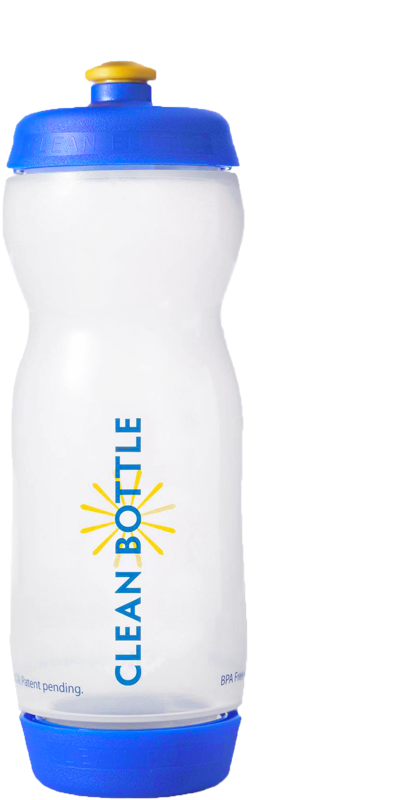 CLEAN BOTTLE: Donates 10% of profits to help environment and water