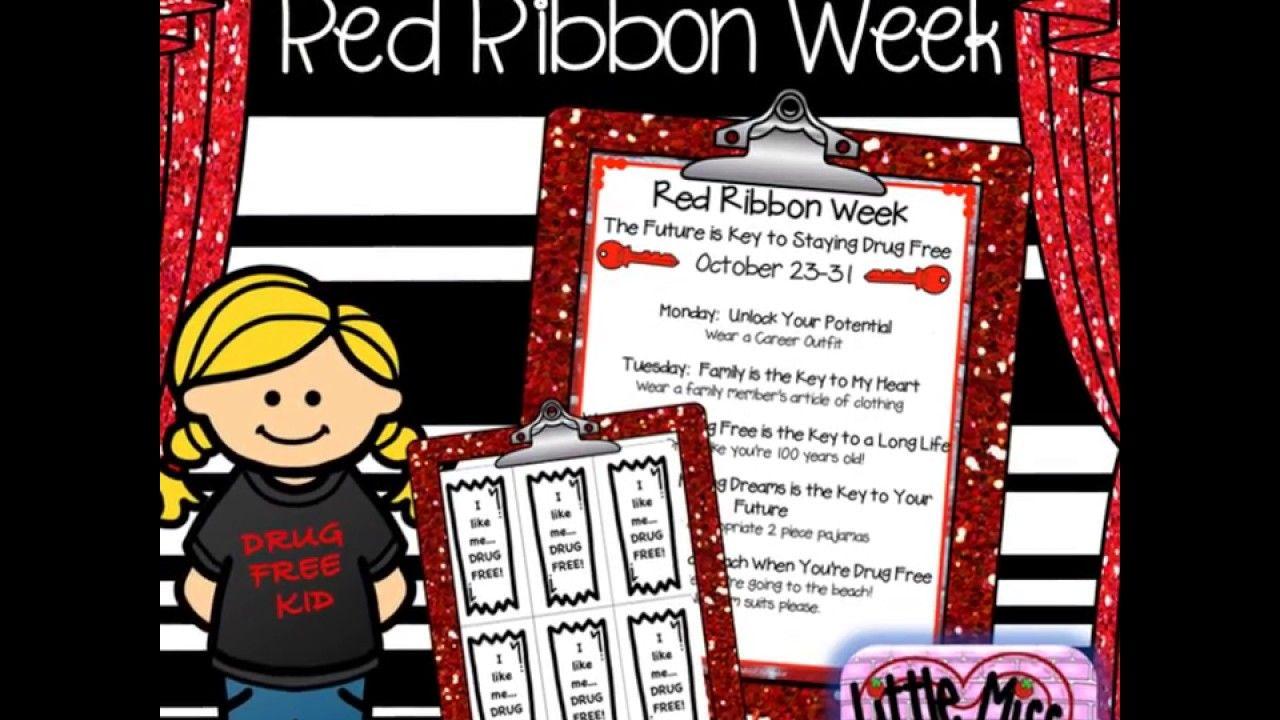 Red Ribbon Week 2017 On Tpt Middle School Counseling Elementary School Counseling Elementary Counseling [ 720 x 1280 Pixel ]