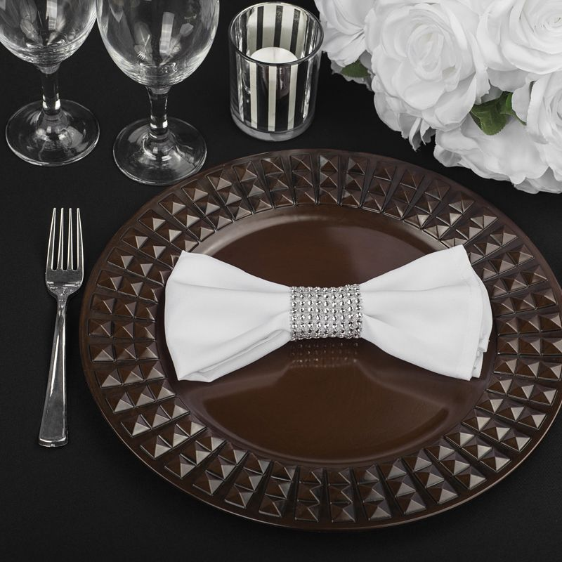 """Red Wedding Ideas On A Budget: Stone Round 13"""" Charger Plate"""