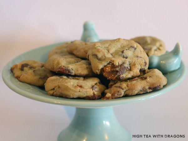 Decadent Snickers Cookies - nzgirl