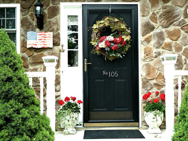 Think A Storm Door Prevents You From Hanging A Wreath Think Again