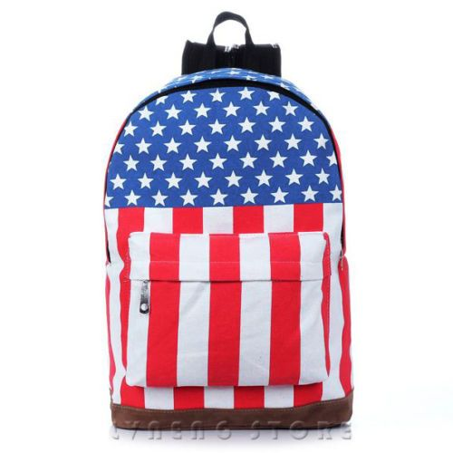 Flag Canvas Bag Backpack Style Computer Bag Street Fashion Travel Bag New Hot