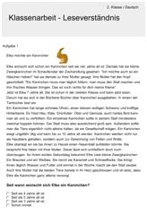 leseverst ndnis deutsch 2 klasse schul bungen leseverst ndnis deutsch lesen und verst ndnis. Black Bedroom Furniture Sets. Home Design Ideas