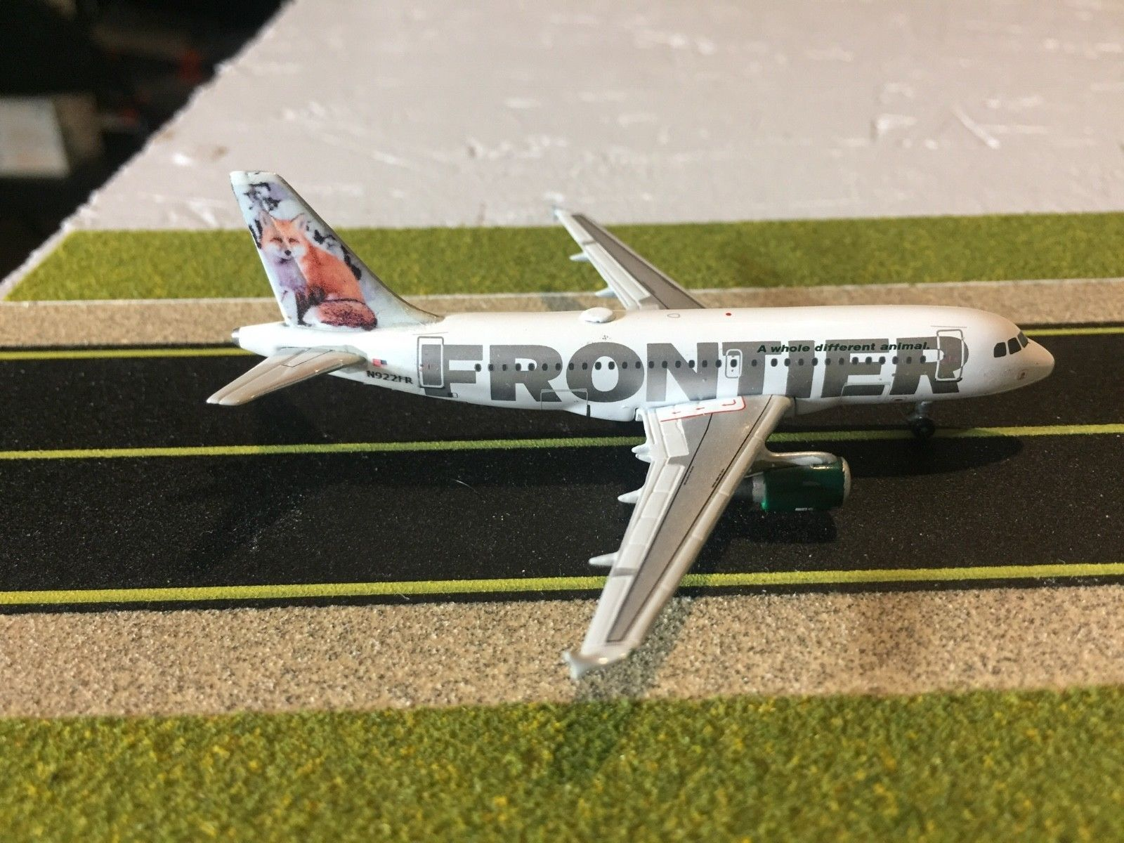 Contemporary Manufacture 19029 1 400 Geminijets 1 400 Frontier A319 Red Fox Custom Model Buy It Now Only 40 On Ebay Conte Diecast Toy Custom Aircraft