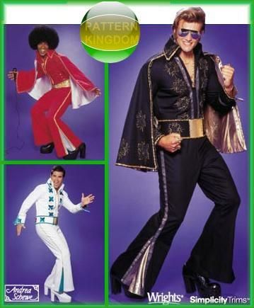 Elvis Presley Cape Mens Adult Size Costume Accessory