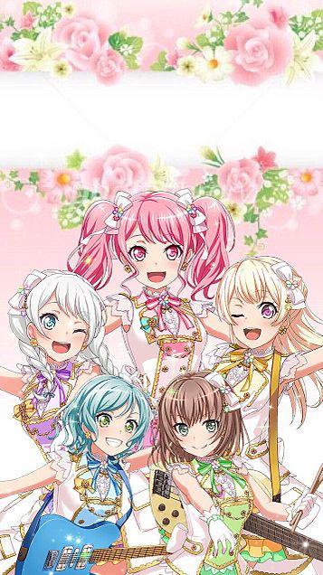 Cute Girl Anime Wallpaper Apk Pastel*palettes 壁紙 Bang Dream Smartphone Wallpaper