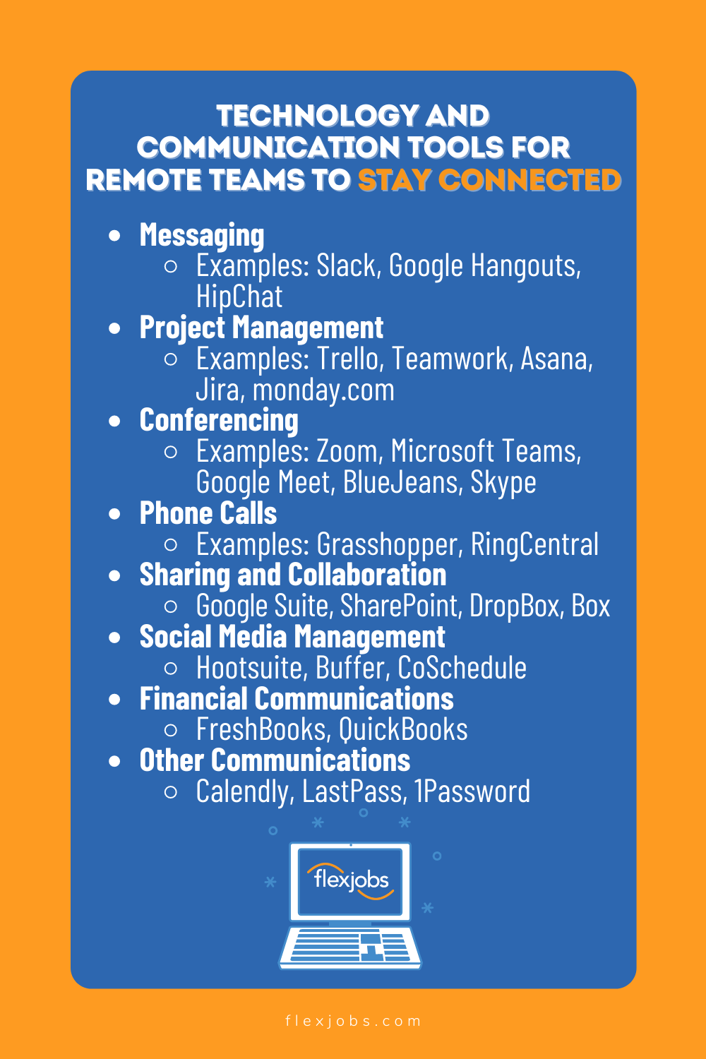 Communication & Technology Tools for Virtual & Remote