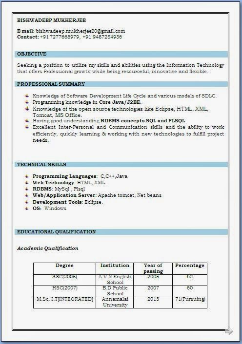 build a professional resume Sample Template Example of Excellent ...