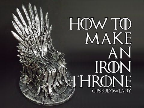 How to make an iron throne from polymer clay handmade for Buy iron throne chair