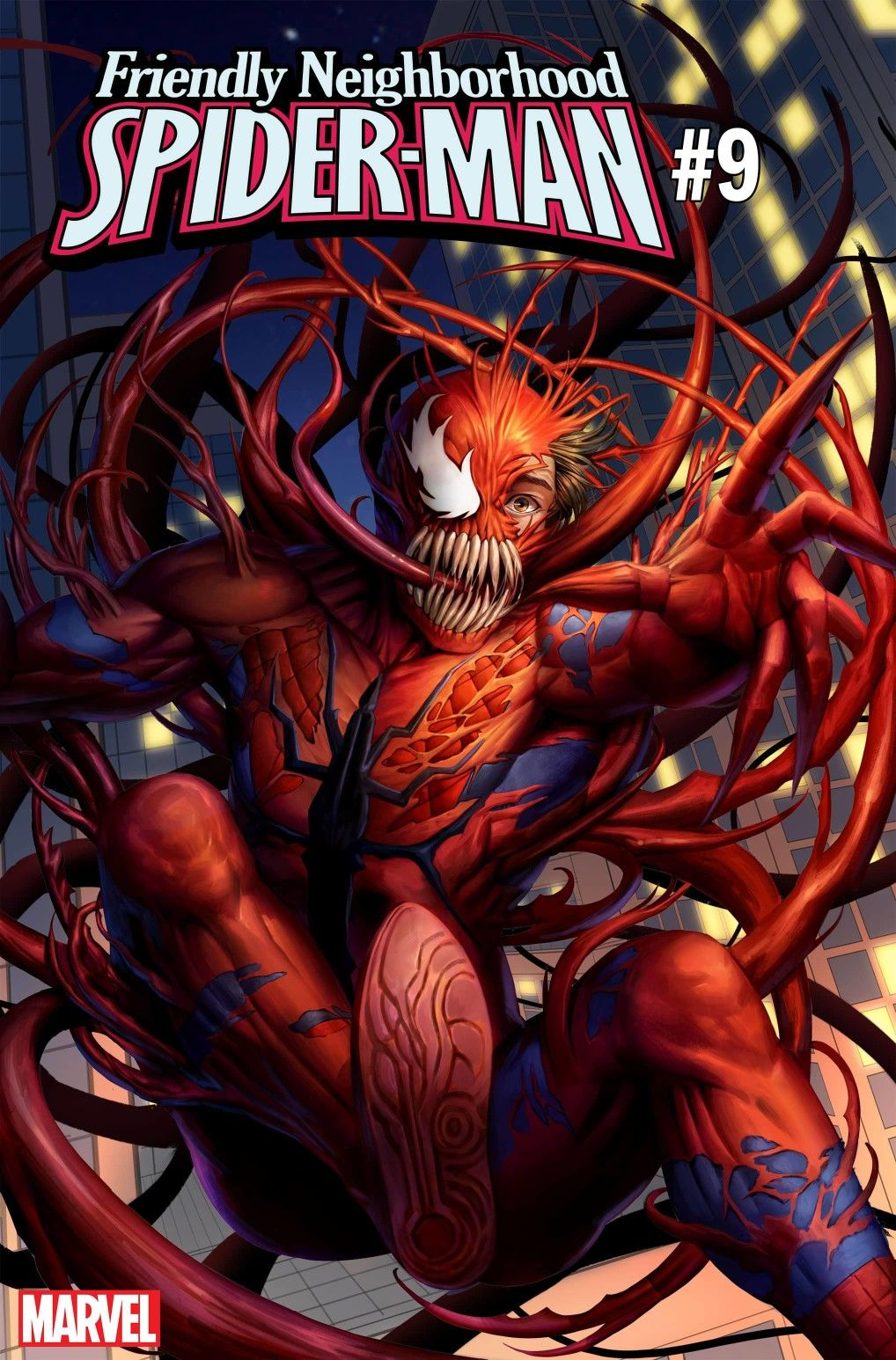 Symbiote Spider-Man 3 Absolute Carnage Logo Secret Variant 2019 NM