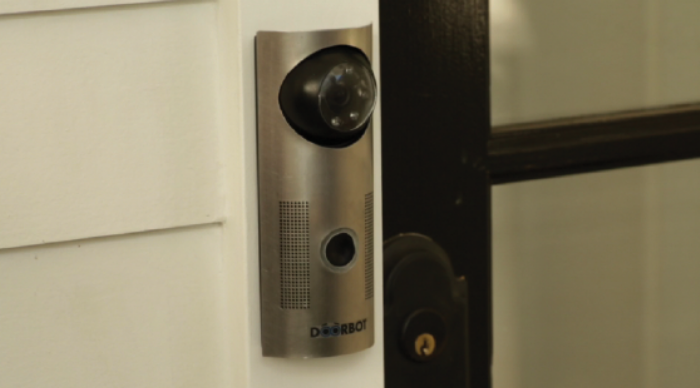I Want Doorbot Shows You Who S At The Door And Lets You Tell Them To Buzz Off If They Re Unwanted Ohgizmo Technology Wifi Doorbell Cool Stuff