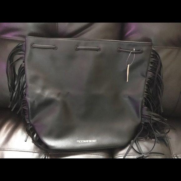 Victoria Secret 2015 Fashion Show bag..NWT Black Victoria Secret 2015 Fashion show bag.. NWT never used Victoria's Secret Bags Backpacks