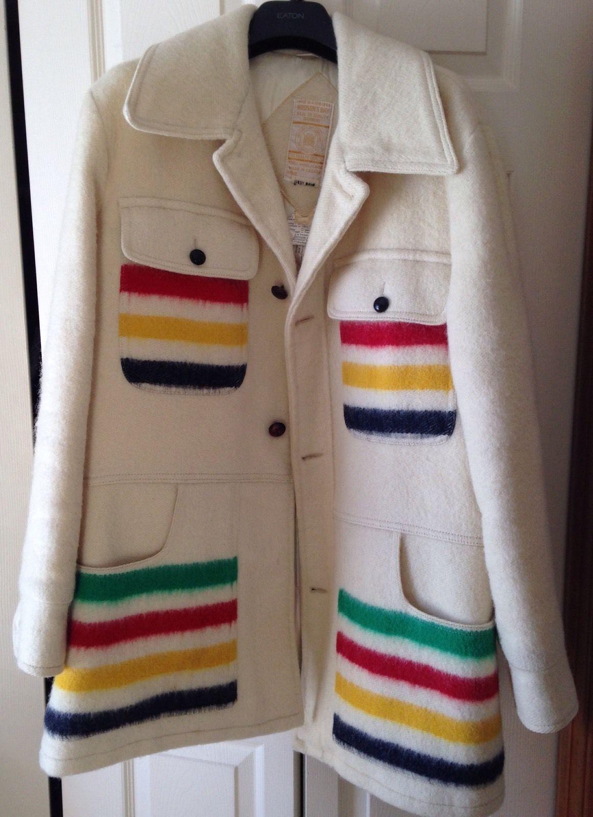 Vintage Wool HBC Style Quilted Vest EWZni