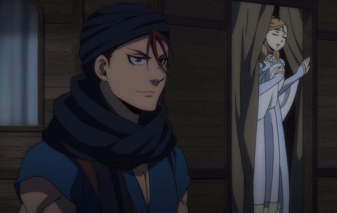 Arslan senki merlane and irina anime heroic legend
