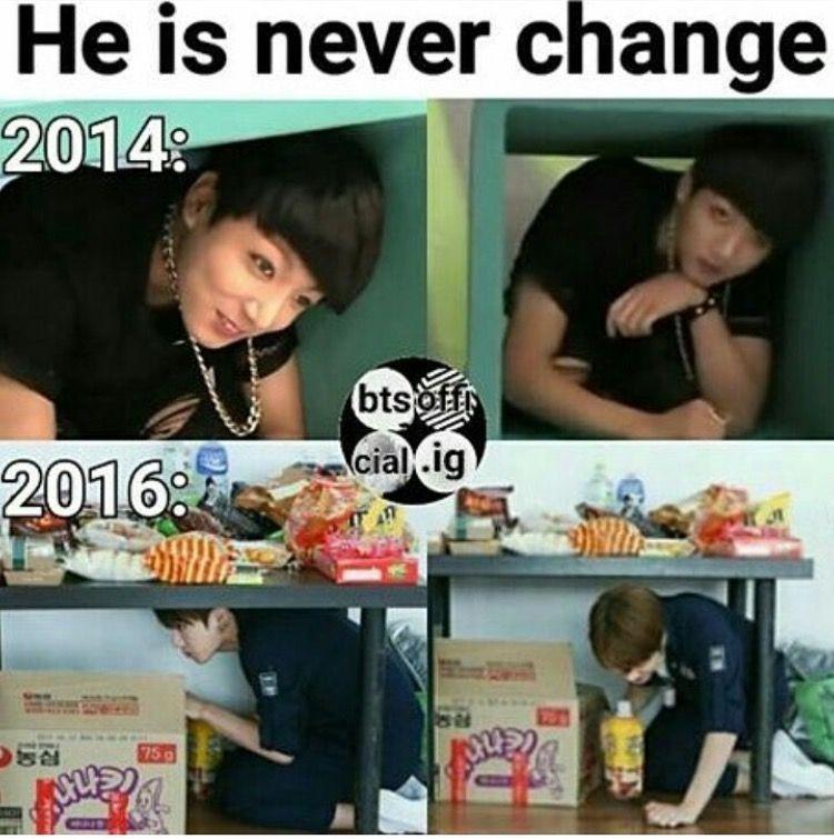 BTS's baby never change