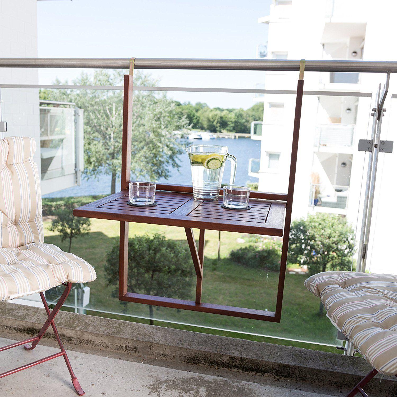 Ultranatura 331400000269 mesa de balc n mesa colgante y for Mesa colgante para balcon