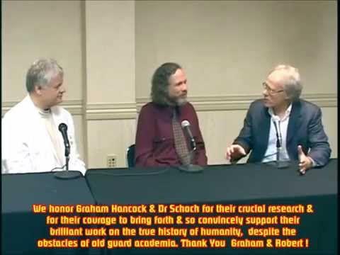 Graham Hancock & Dr Robert Schoch - Solar Radiation, Comets & Lost  Civilizations - YouTube   Doctor robert, Graham hancock, Radiation
