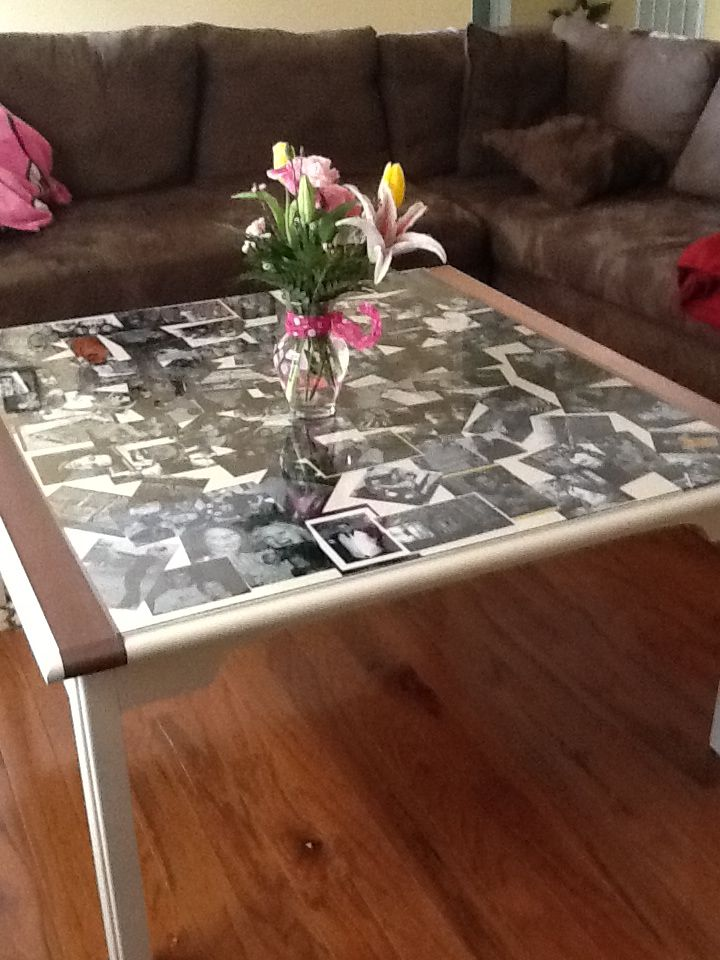 Collage Table.