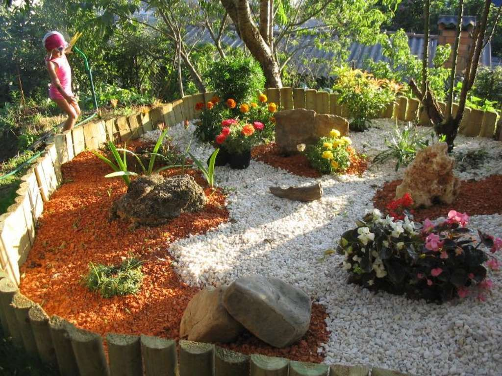 ideas para decorar jardines buscar con google - Como Decorar Un Jardin
