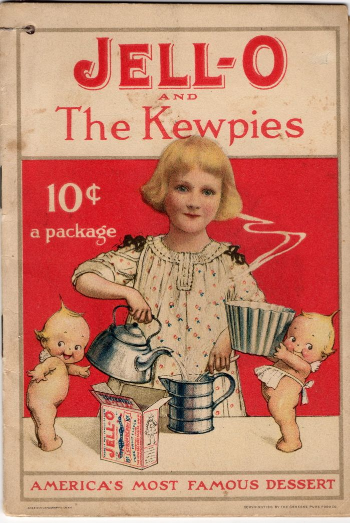 Vintage Jello Ad, With The Kewpie Dolls | ADVERTISING of ...