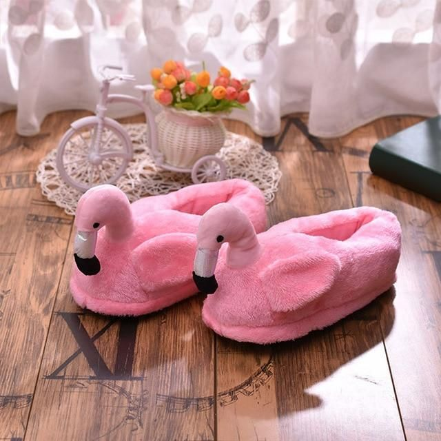 Photo of Women Fluffy Slippers Warm Plush Cartoon Shoes Girls Ladies Flats Slipper Winter Home Soft Comfortable Rabbit Female Footwear – Rose red 10