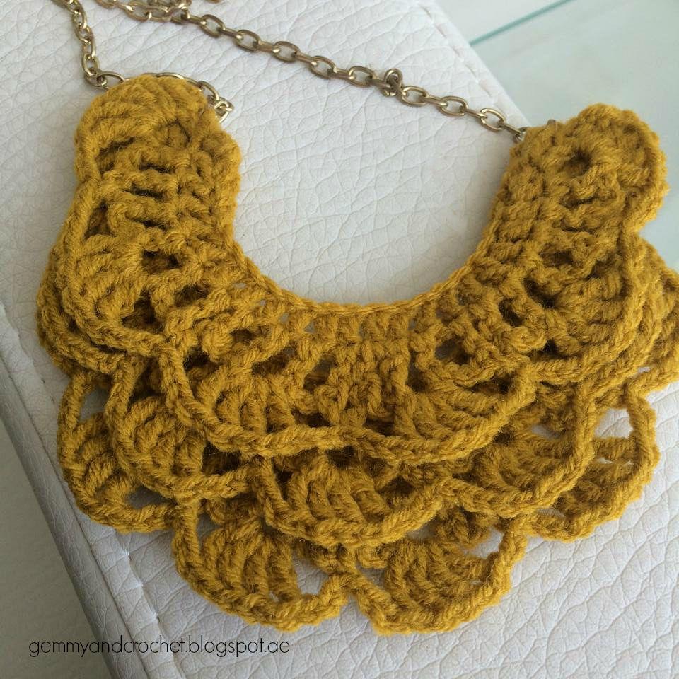 FREE Jewelry Crochet Patterns | Crochet jewelry patterns, Jewelry ...