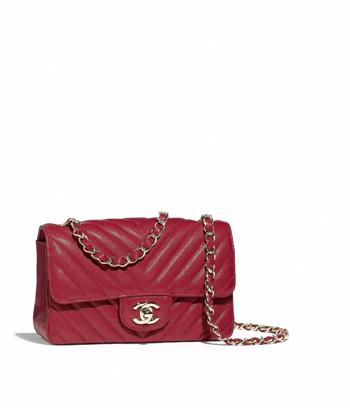 c42a24411cbe Handbags of the Fall-Winter 2018 19 Pre-collection CHANEL Fashion  collection   Mini Flap Bag