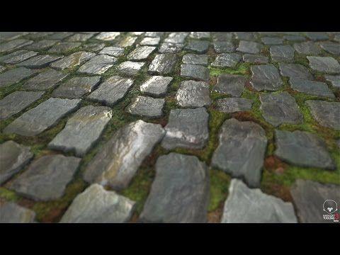 #SpeedTexturing | Cooblestone | Substance Designer - YouTube