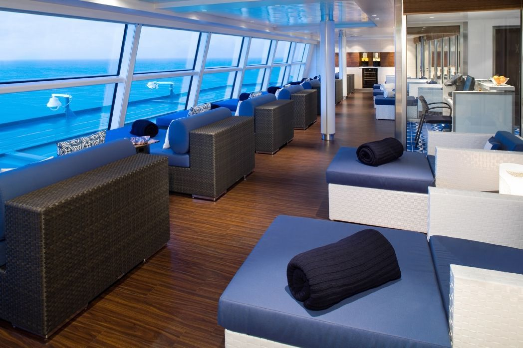 Celebrity Equinox Relaxation Room For Aqua Class Guests The Aqua