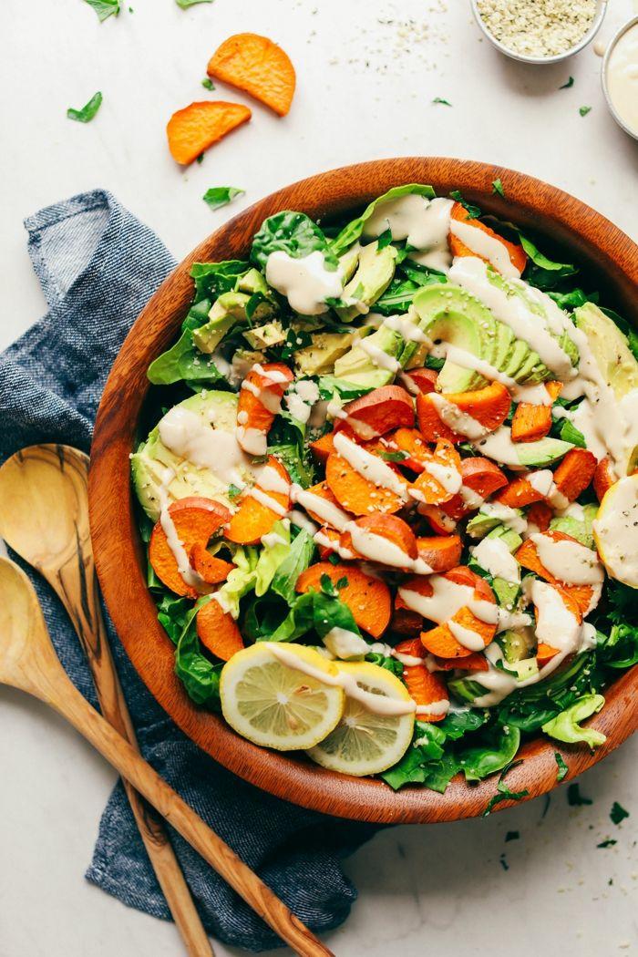1001 + idées délicieuses pour faire une salade verte ...