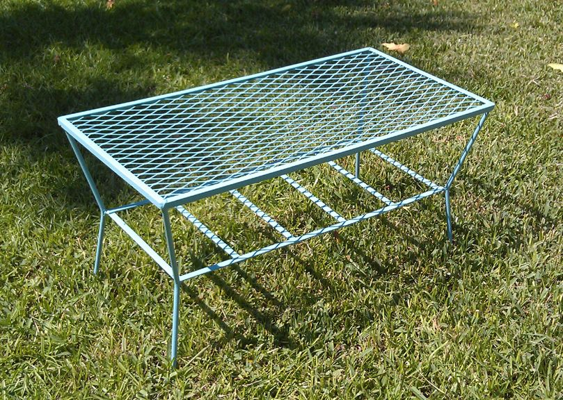 Quintessential 50s Outdoor Coffee Table