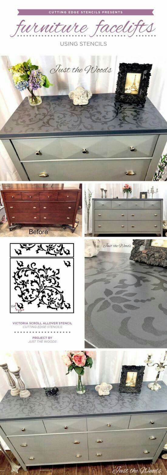 Pin By Arelys Lorenzo On Furniture Stencil Furniture Furniture