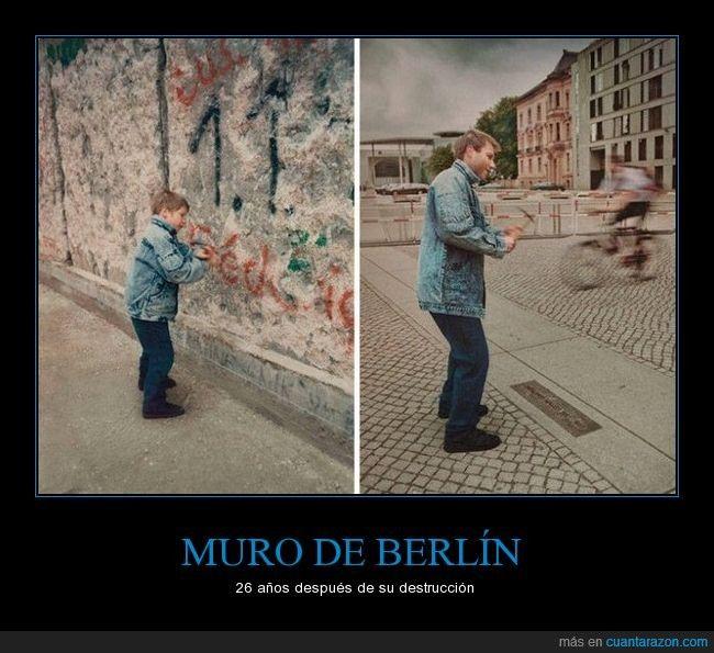 MURO DE BERLÍN - 26 años después de su destrucción   Gracias a http://www.cuantarazon.com/   Si quieres leer la noticia completa visita: http://www.estoy-aburrido.com/muro-de-berlin-26-anos-despues-de-su-destruccion/