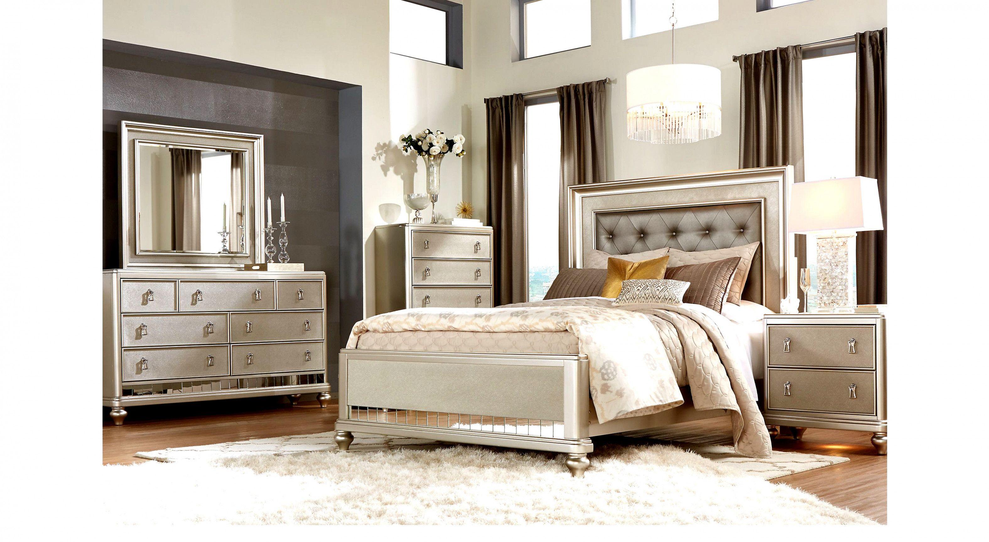 Sofia Vergara Paris 7 Pc Queen Bedroom Queen Bedroom Sets Colors Masterbedroomideas Bedroom Sets Furniture Queen Rooms To Go Bedroom Bedroom Sets Queen
