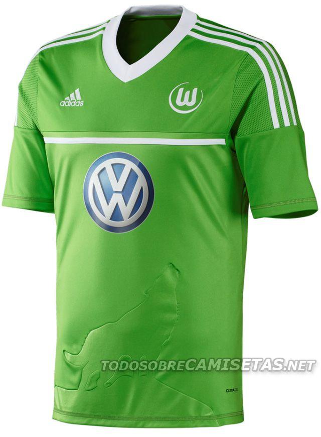 6ceb8b5862baa Wolfsburg Adidas Heimtrikot 2012 2013 Mantos