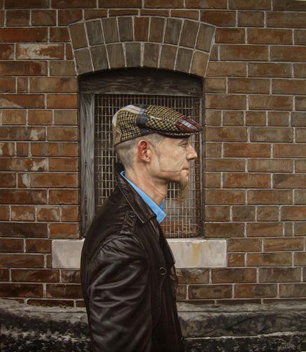 Sean Yelland (oil on canvas)