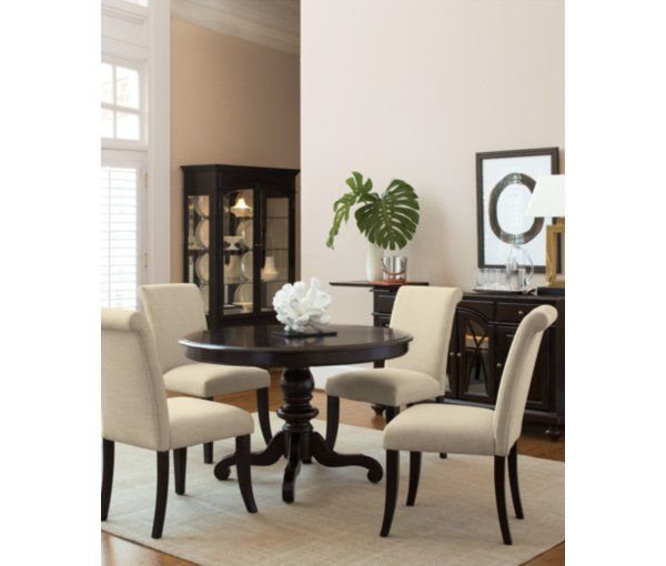 Exceptionnel Room · Bradford Scroll Back Upholstered Side Chair   Dining Room Furniture  ...