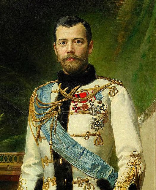 Nicholas II. an extremely loving and kind man who was totally unprepared to be Emperor. He would have been quite content to just be a husband and father.