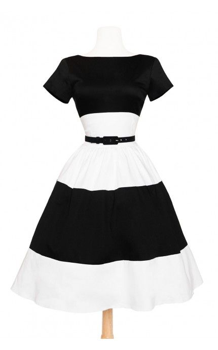 4755e78ad31a Amanda Dress in White and Black (would take pink or red blue combos as  well) - pinupgirlclothing.com - size 2x