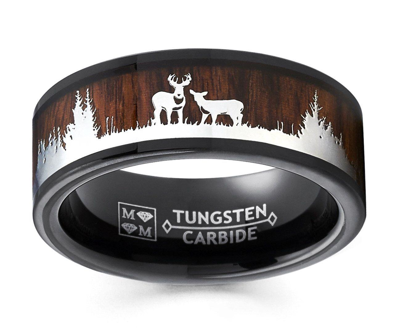 Real Diamond Camo Engagement Rings
