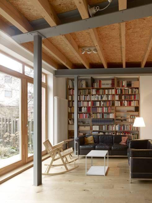 360°: umbau einer scheune, Wohnzimmer