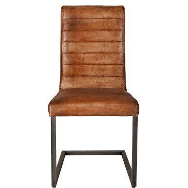 Esszimmerstühle Leder Braun hudson stuhl cognac leder stühle interior design